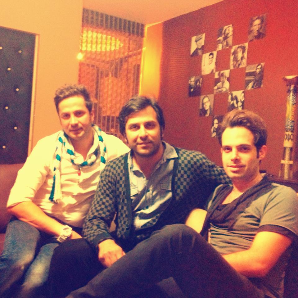 عکس ماهان بهرام خان (0111) کنار میثم مروستی | WwW.BestBaz.RozBlog.Com