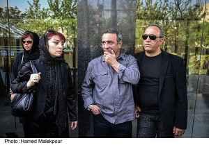 عکسی از حمیرا ریاضی و علی اوسیوند در مراسم عسل بدیعی | WwW.BestBaz.IR