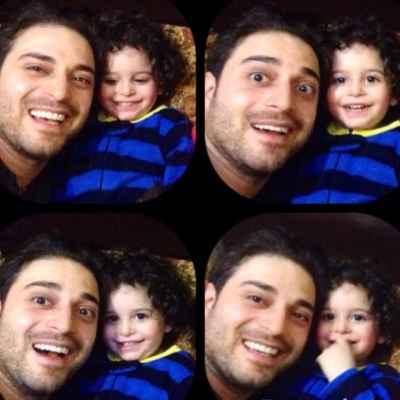 عکسی جالب از بابک جهانبخش و پسرش آرتا | WwW.BestBaz.IR