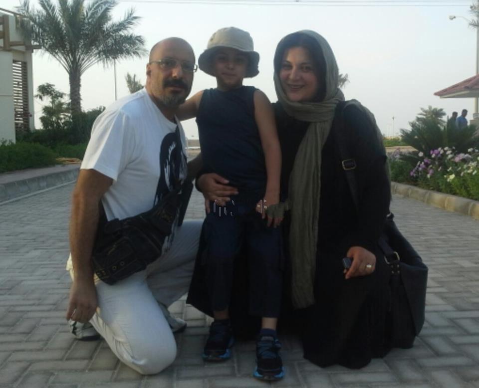 عکسی از امیر جعفری و همسرش راما رامین فر | WwW.BestBaz.IR