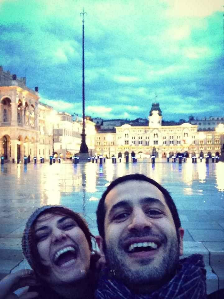 عکسی از باران کوثری و همسرش | WwW.BestBaz.IR