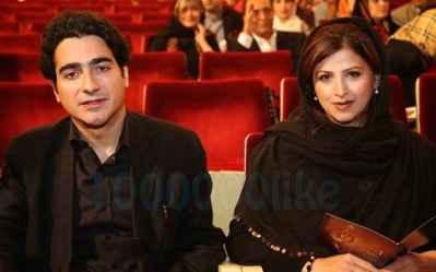 عکسی از همایون شجریان و همسرش گیتا خوانساری | WwW.BestBaz.IR