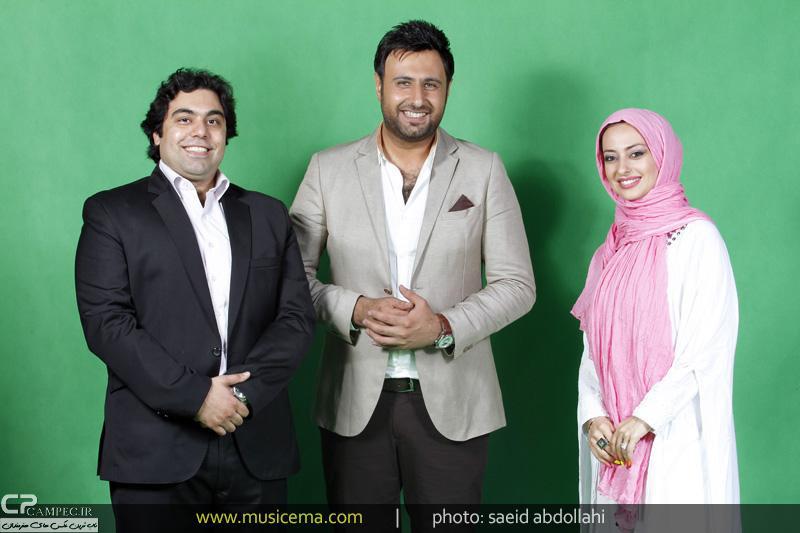 عکسی از نفیسه روشن و همسرش کنار محمد علیزاده | WwW.BestBaz.IR