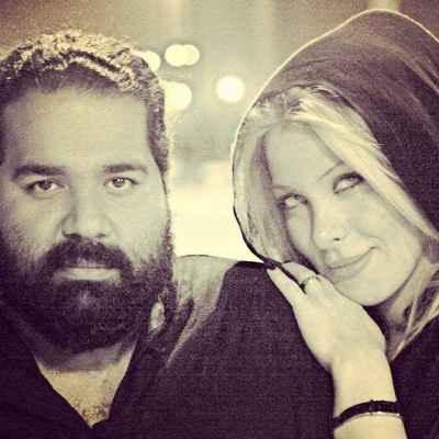 عکسی از رضا صادقی و همسر خوشگلش | WwW.BestBaz.IR