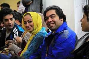 عکسی از نفیسه روشن و همسرش | WwW.BestBaz.IR