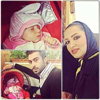 عکسی از بچه ی روناک یونسی و همسرش محسن میری | WwW.BestBaz.IR