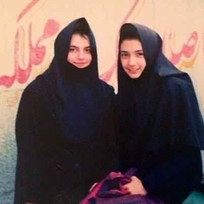 عکسی از شبنم قلی خانی در دوران دبیرستان | WwW.BestBaz.IR