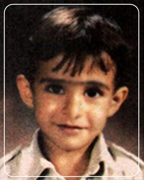 عکسی از دوران کودکی محسن یگانه | WwW.BestBaz.IR