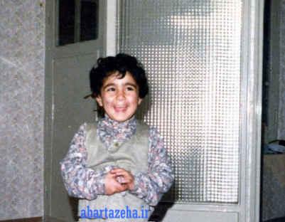 عکسی اختصاصی از کودکی بهنوش بختیاری | WwW.BestBaz.IR