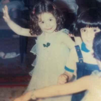 عکسی جالب از کودکی مهراوه شریفی نیا | WwW.BestBaz.IR