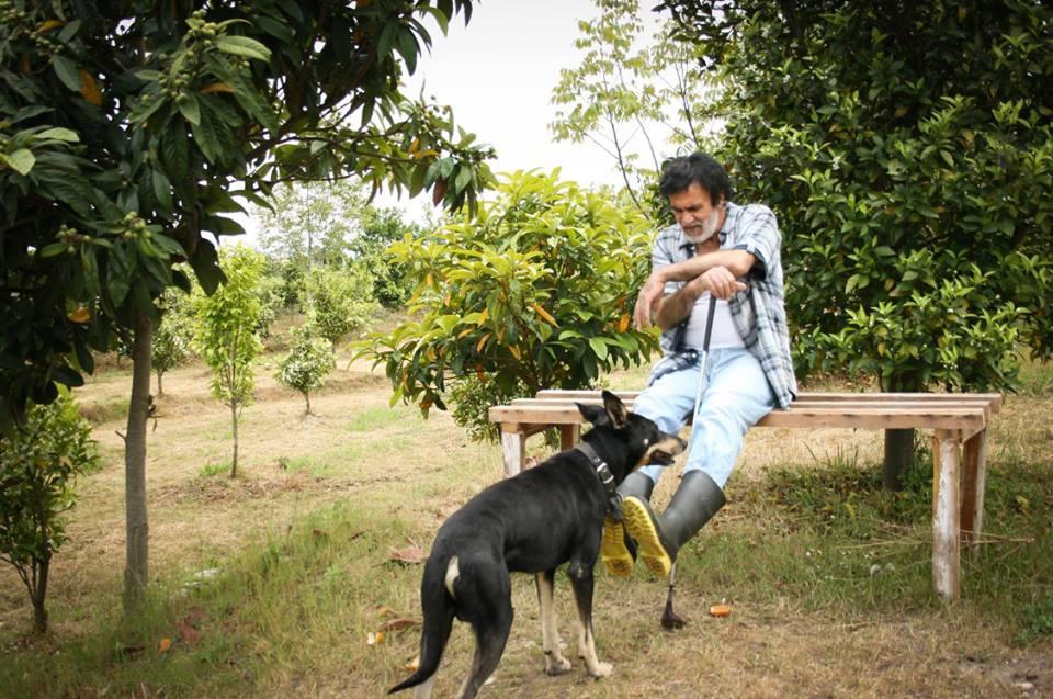 عکسی از حبیب و سگش در شمال ایران | WwW.BestBaz.IR