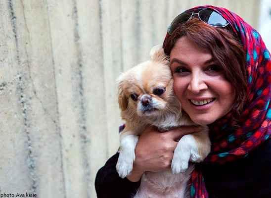 عکسی از شهره سلطانی و سگش | WwW.BestBaz.IR