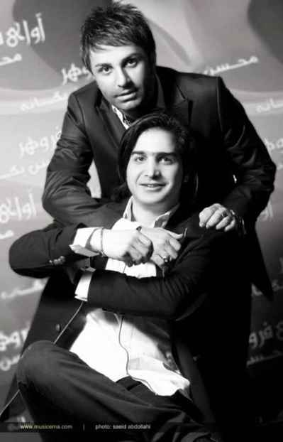 عکسی یادگاری از محسن یگانه و علی لهراسبی | WwW.BestBaz.IR