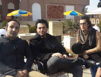 عکسی یادگاری از محمدرضا گلزار و مرتضی پاشایی | WwW.BestBaz.IR