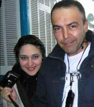 عکس یادگاری فریبرز عرب نیا با زهرا امیر ابراهیمی | WwW.BestBaz.IR