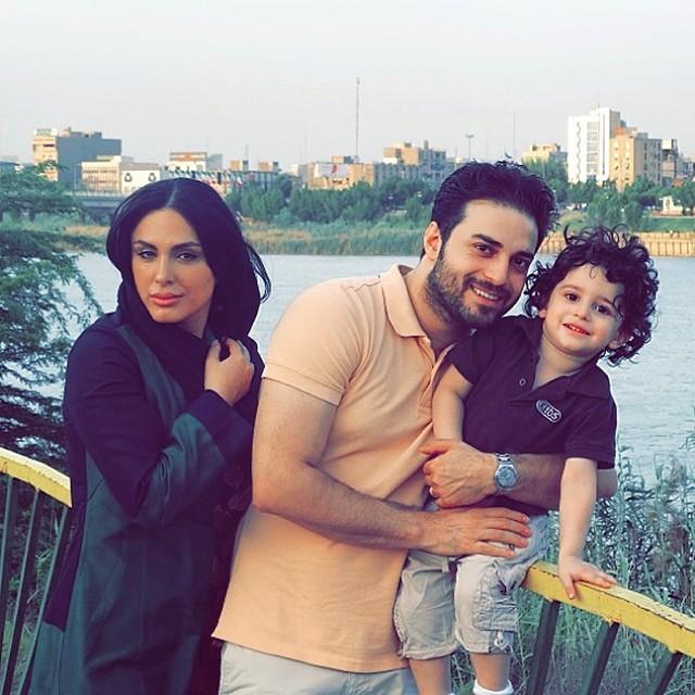 عکسی از بابک جهانبخش کنار همسر و پسرش آرتا | WwW.BestBaz.IR