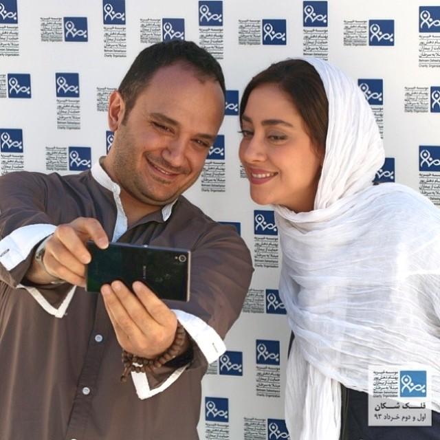 عکسهای بهاره کیان افشار در خیریه ی بهنام دهش پور | WwW.BestBaz.IR