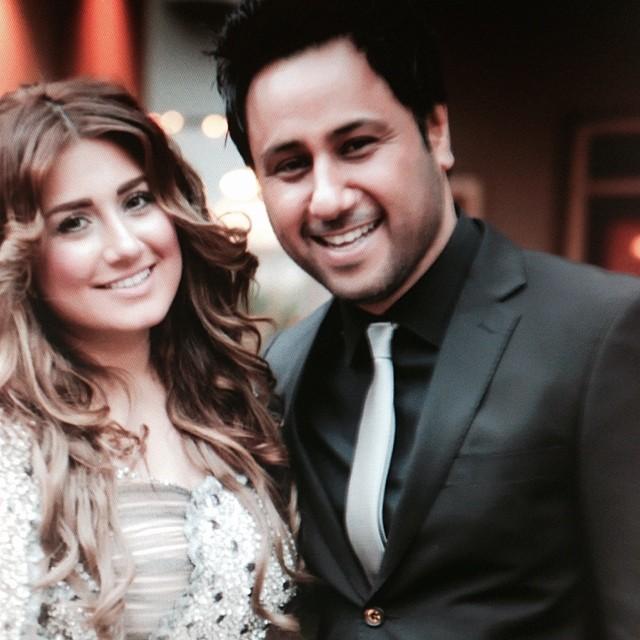 باران خواننده و همسرش شهیاد