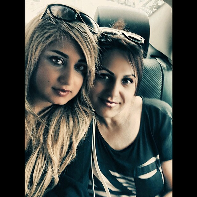 عکسی از باران خواننده و خواهرش | WwW.BestBaz.IR