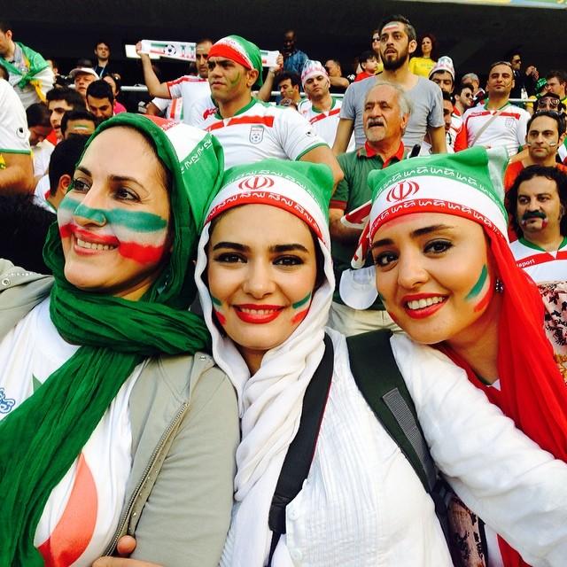 عکسهایی از حضور بازیگران زن در جام جهانی 2014 | WwW.BestBaz.IR