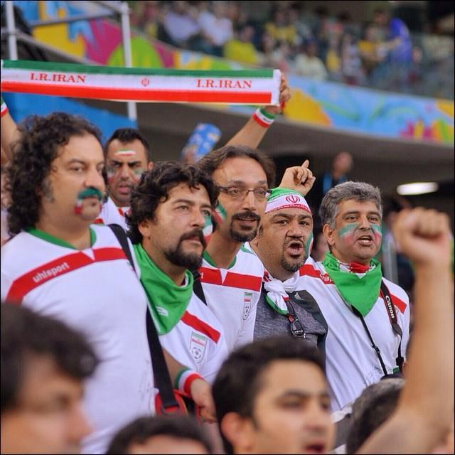عکسهایی از حضور هنرمندان ایرانی درجام جهانی 2014 | WwW.BestBaz.IR