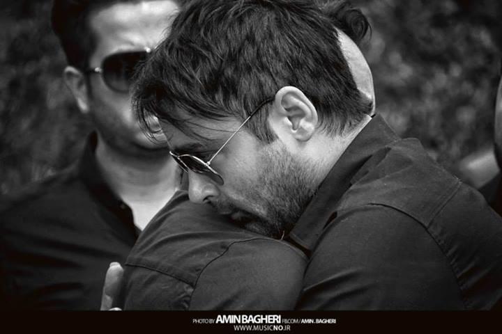 عکسهای سهراب پاکزاد در مراسم تشییع نیما وارسته | WwW.BestBaz.IR