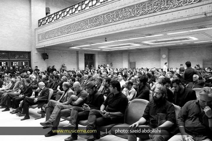 عکسهای مراسم یادبود نیما وارسته با حضور هنرمندان   WwW.BestBaz.IR