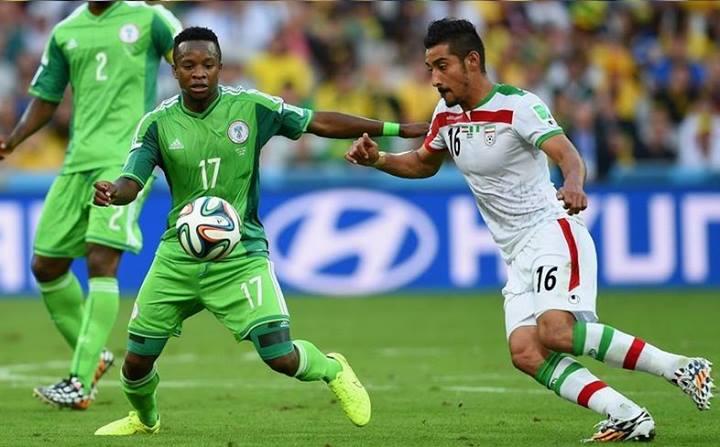 عکسهای رضا قوچان نژاد در بازی ایرن و نیجریه | WwW.BestBaz.IR