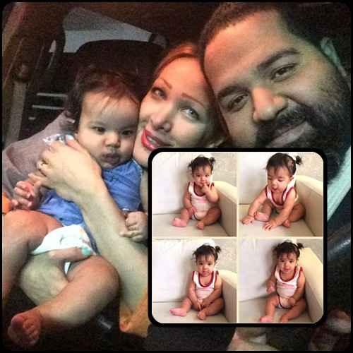 عکسهای رضا صادقی کنار همسر و دخترش تیارا | WwW.BestBaz.IR