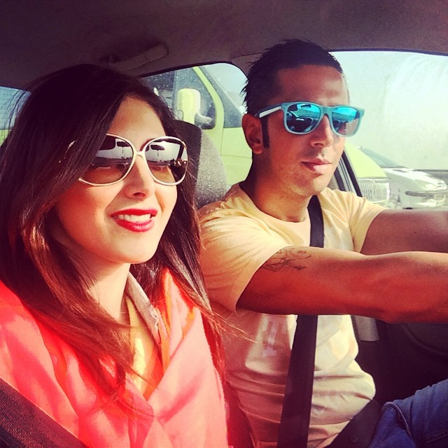 عکسهای رضایا و همسرش | WwW.BestBaz.IR