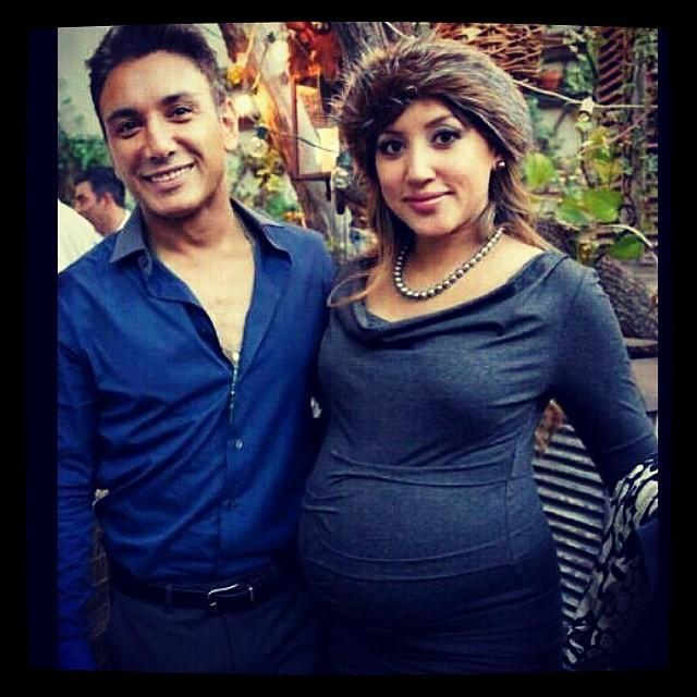 عکسهای شادمهر عقیلی و همسرش در زمان بارداری | WwW.BestBaz.IR