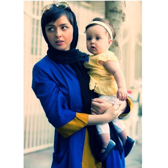 عکسی جدید از ترانه علیدوستی و دخترش حنا | WwW.BestBaz.IR