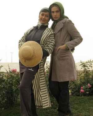 عکسهایی مشترک از آناهیتا نعمتی و لادن مستوفی | WwW.BestBaz.RozBlog.Com