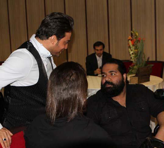 عکسی از بابک جهانبخش و رضا صادقی کنارهم در هتل | WwW.BestBaz.RozBlog.Com