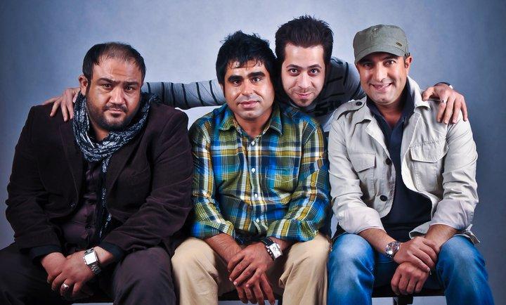عکس یادگاری مهران غفوریان با مجید صالحی و امیر نوری | WwW.BestBaz.RozBlog.Com