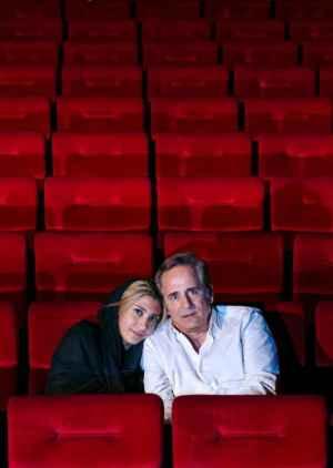 عکس مجید مظفری و دخترش در سالن سینما | WwW.BestBaz.RozBlog.Com