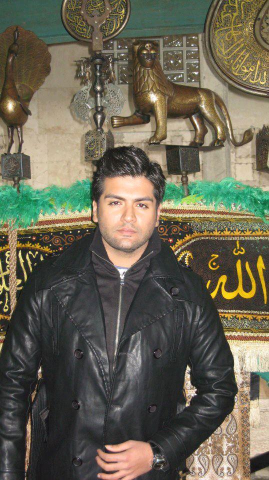 تک عکسی از میلاد بیک در هیئت عزاداری | WwW.BestBaz.RozBlog.Com
