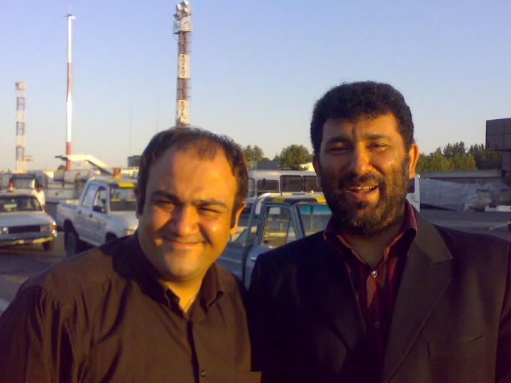 عکس یادگاری حاج سعید حدادیان با مهران غفوریان | WwW.BestBaz.RozBlog.Com
