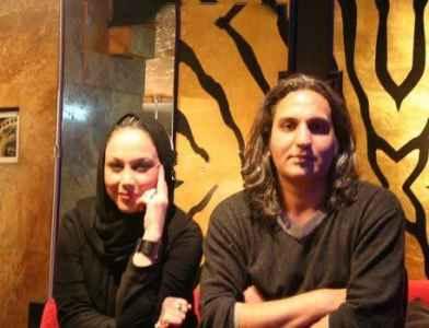 عکسی از بهنوش بختیاری و همسرش محمدرضا آرین کنارهم | WwW.BestBaz.RozBlog.Com