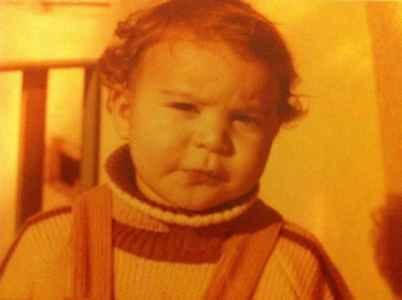 عکسی از سحر دولتشاهی در دوران کودکی | WwW.BestBaz.RozBlog.Com