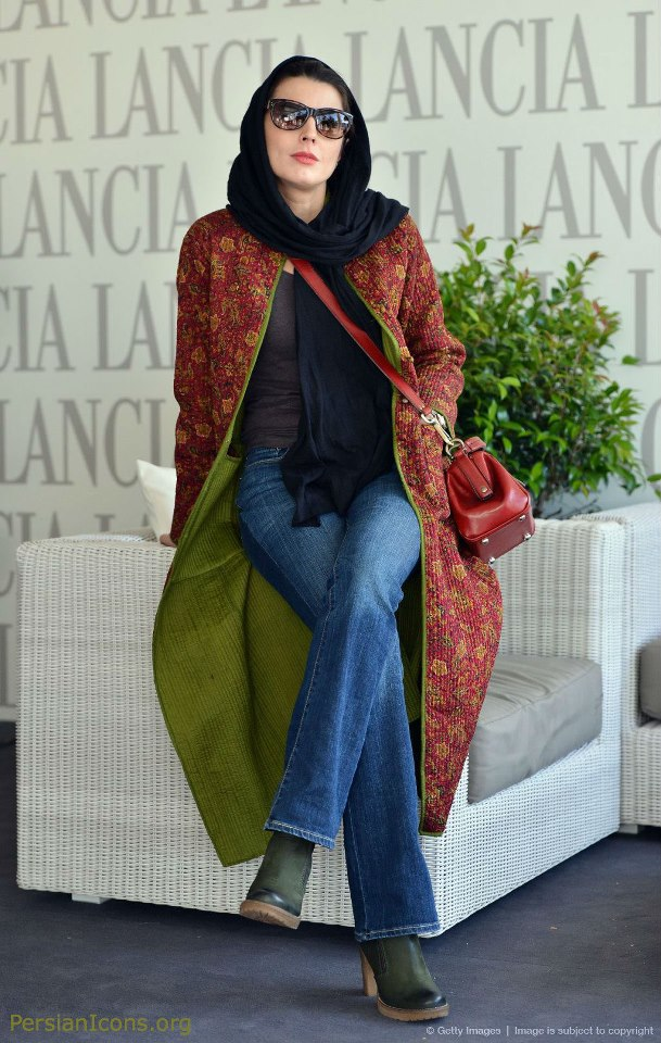 عکسی از لیلا حاتمی در جشنواره ی فیلم رم | WwW.BestBaz.RozBlog.Com
