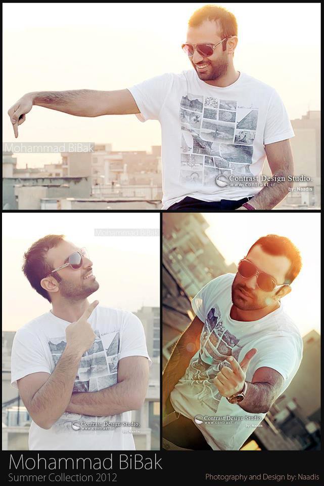 تک عکسی جدید از محمد بیباک | WwW.BestBaz.RozBlog.Com