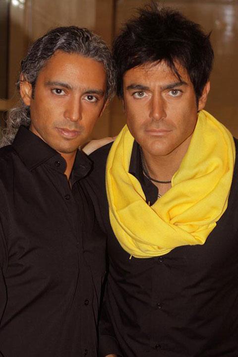 عکس یادگاری مازیار فلاحی و محمدرضا گلزار با هم | WwW.BestBaz.RozBlog.Com