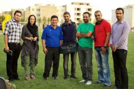 عکس یادگاری نیکی کریمی با امیر قلعه نوعی | WwW.BestBaz.RozBlog.Com