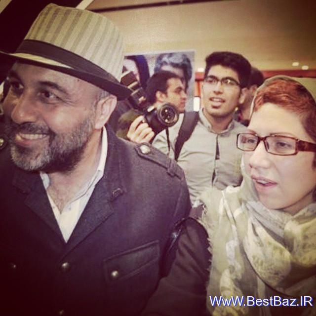 عکس رضا عطاران و همسرش فریده فرامرزی | WwW.BestBaz.IR