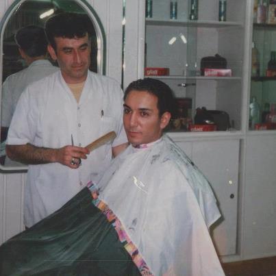 عکسی از شادمهر عقیلی در آرایشگاه | WwW.BestBaz.RozBlog.Com