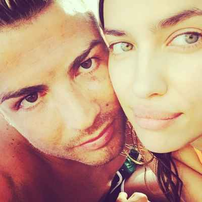 جدیدترین عکس کریستیانو رونالدو و همسرش ایرینا شایک | WwW.BestBaz.IR