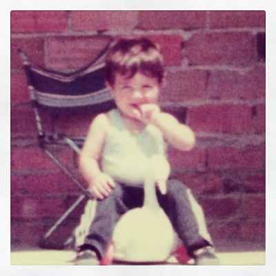 عکسی از کودکی داوید ویا | WwW.BestBaz.IR