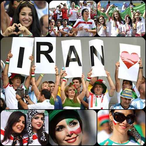 عکسهای اختصاصی از بازی ایران و آرژانتین در جام جهانی 2014 | WwW.BestBaz.IR
