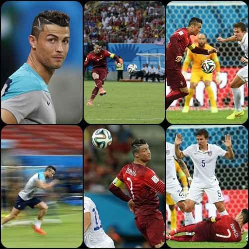 عکسهای کریستیانو رونالدو در بازی پرتغال و آمریکا | WwW.BestBaz.IR